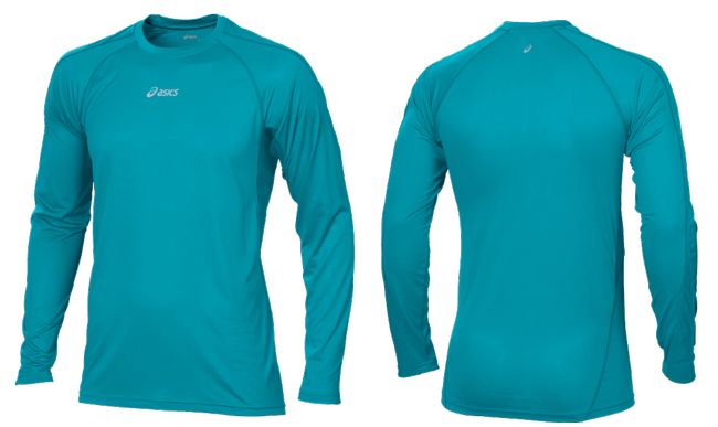 Футболка беговая Asics Hermes LS Crew Top Men's 3213230820