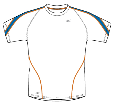 Футболка беговая Mizuno Performance Tee  67TF80672