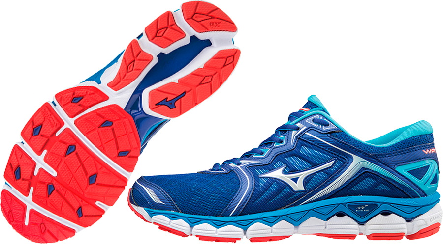 03e2426d Кроссовки беговые Mizuno WAVE SKY Men's J1GC1702-01 J1GC170201 ...