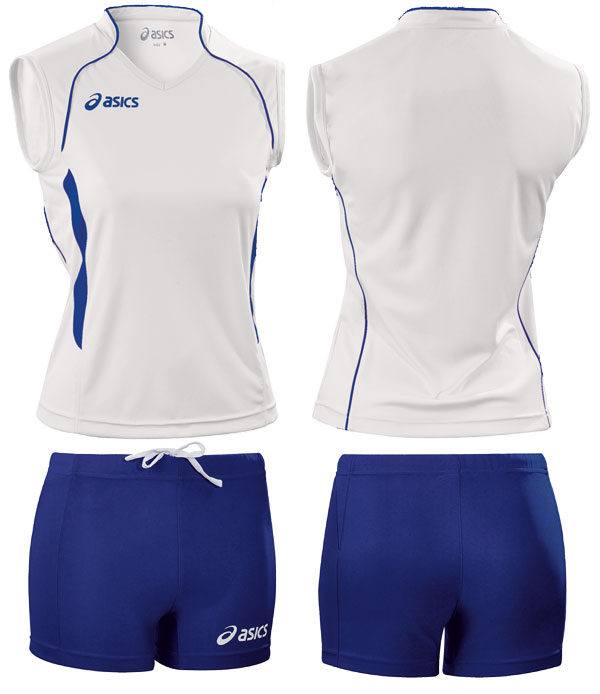 Форма волейбольная Asics SINGLET ARUB + SHORT LEAGUE Women's T603-602Z10143