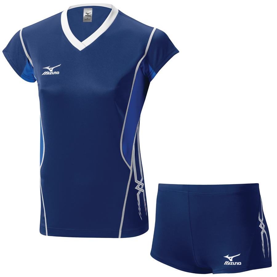 Форма волейбольная Mizuno Premium Cap Sleeve + Premium Tight Women's V2EA-EB470114